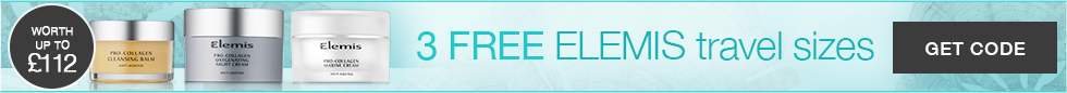 Elemis offer up to 50% off or more - TIMETOSPA uk sale offer.