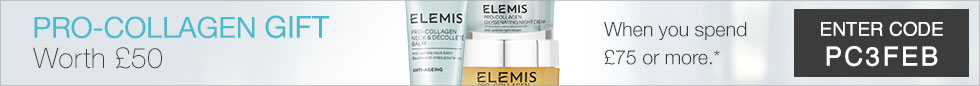 FREE ELEMIS PRO-COLLAGEN GIFT - WORTH £50