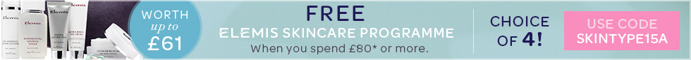 FREE ELEMIS Skintype Programme worth up to £61