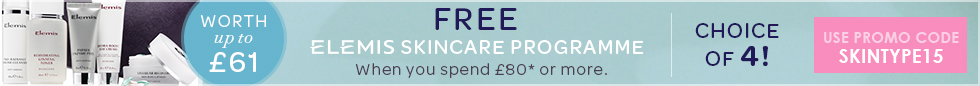 Free ELEMIS Skincare Programme - Worth Up To £61