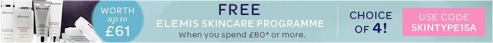 FREE ELEMIS Skintype Programme worth up to £61